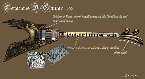 how to get all concept art in brutal legend